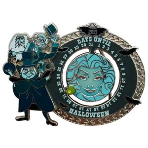 Haunted Mansion Halloween Countdown 2021 pin