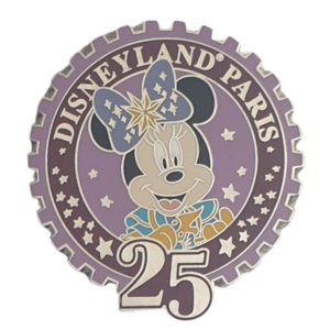 DLP - 25th Anniversary Minnie Mouse pin