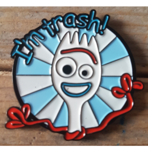 Fantasy forky  pin