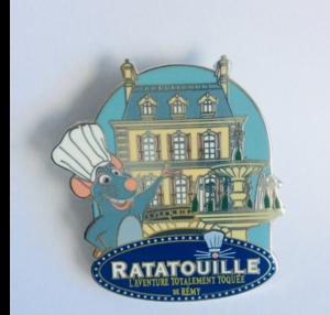 Ratatouille - L'aventure Totalmente Toquée de Rémy pin
