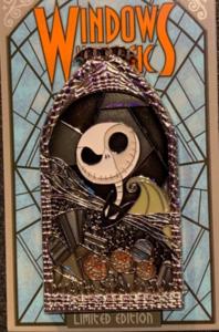 Jack Skellington - Windows of Magic pin