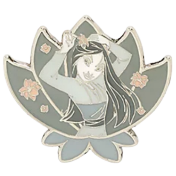 Mulan - Loungefly Disney Princesses Grayscale Moments Mystery Box pin