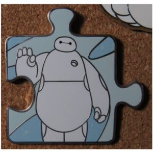 Baymax Puzzle Piece (Chaser) pin