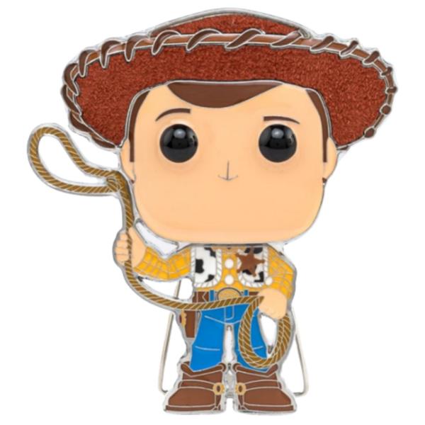 Sheriff Woody - Funko Pop - Pixar - #04 pin