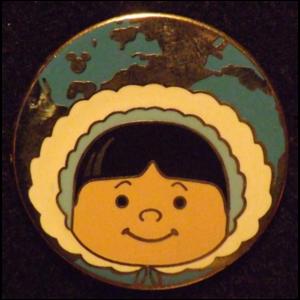 Eskimo - Hidden Mickey It's A Small World pin