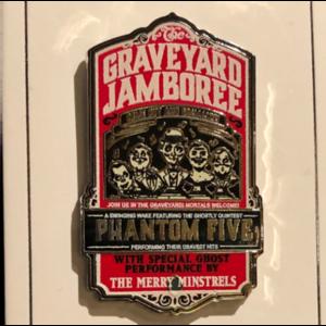 Graveyard Jamboree pin