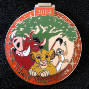 Lion King 2004 Passholder Exclusive   pin