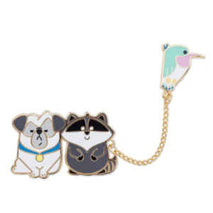 Meeko, Percy and Flit - Disney Store Duos pin