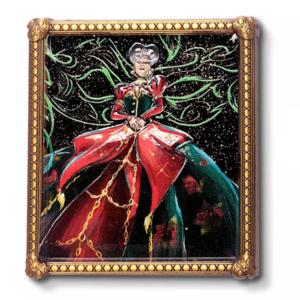 Lady Tremaine Midnight Masquerade portrait pin