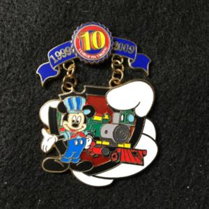 Pin Trading 10th Anniversary Tribute Transportation pin