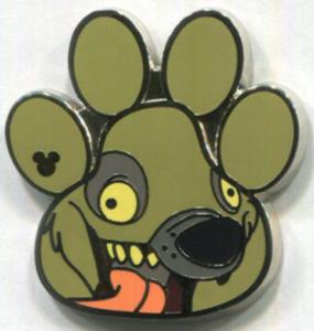 Ed - Hidden Mickey Lion King pin
