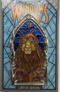 Lion King - Windows of Magic pin