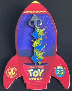 The Claw Toy Story 25th Anniversary pin