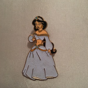 Sparkly Princess Jasmine pin
