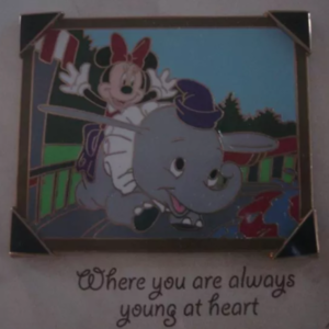 Minnie Mouse - Dumbo Ride - Picture the Moment pin