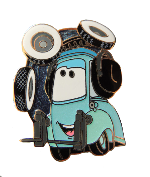 Guido from Cars pin