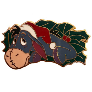DS - 12 Months of Magic - Puzzle: Holiday Wreath - Eeyore pin