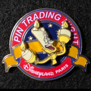 DLP Pin Trading Night Lumiere  pin