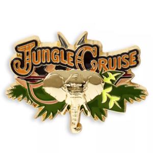 Jungle Cruise logo pin