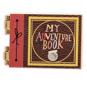 My Adventure Book hinged  pin