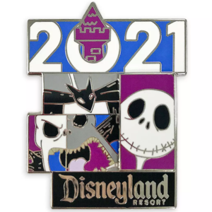 Jack Skellington 2021 Disneyland Resort pin