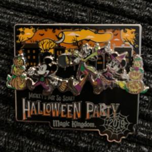 Mickey's not so scary Halloween Party pin