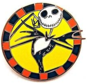 Jack Skellington - Good Vs Evil pin