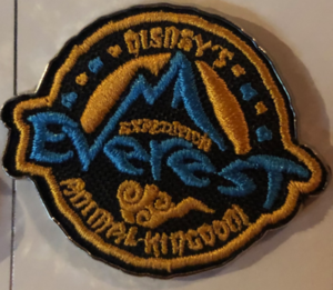 Fabric Expedition Everest pin