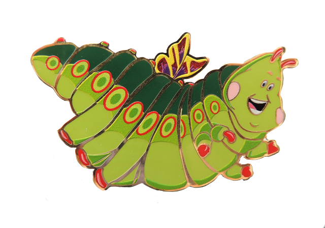 Heimlich from A Bug's Life pin