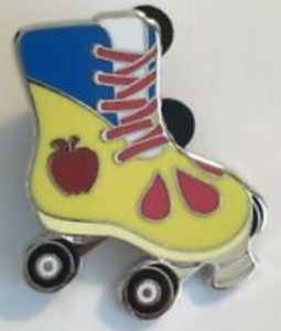 Snow White - Magical Mystery Roller Skate pin