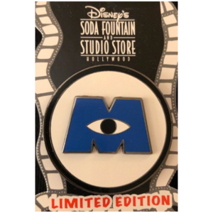 Monsters Inc Logo - 3D Re-Release pin