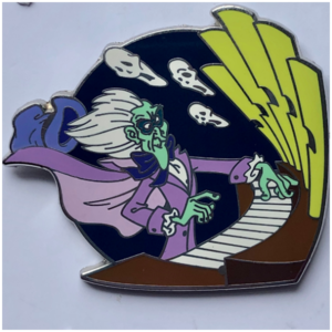 Haunted Mansion organist pin