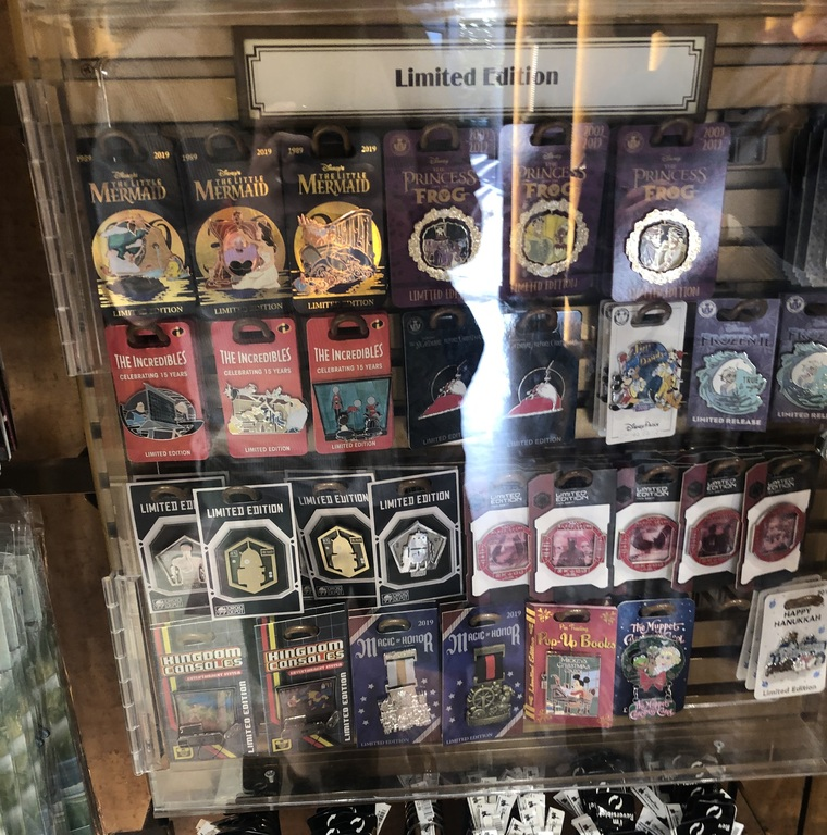 Limited edition cabinet in Hollywood Studios