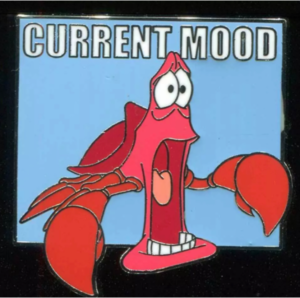 Sebastian Shell Shocked - Current Mood pin