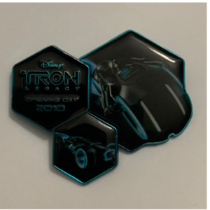 Tron Legacy Opening Day pin