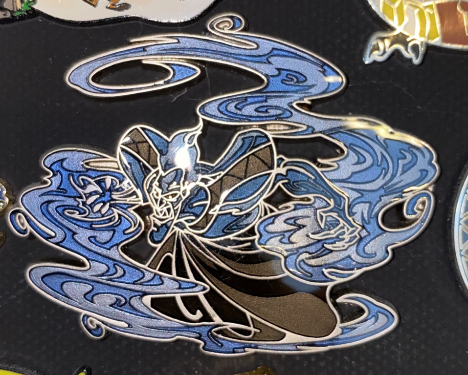 Disney Villains Hades Pin from the early 2000s