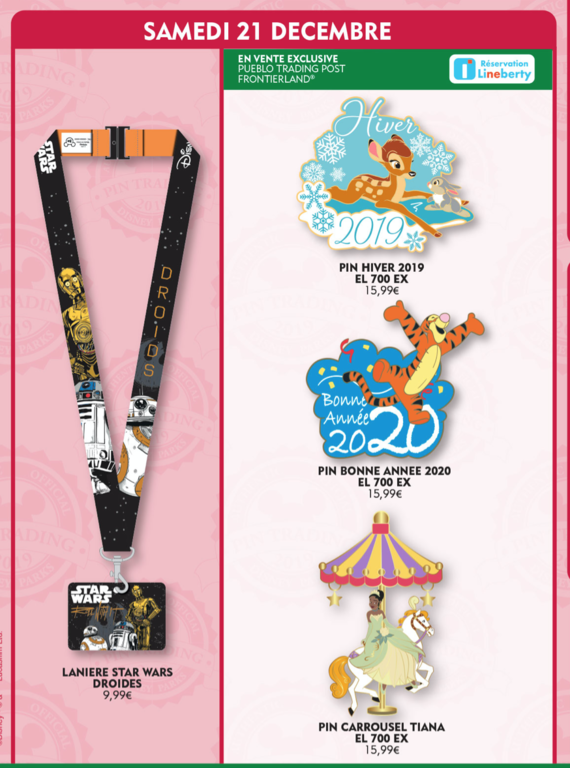 December 21st pin releases