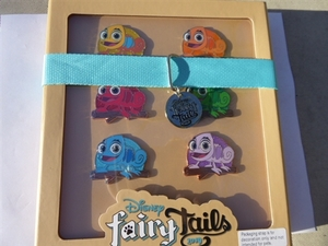Pascal's Scavenger Hunt Set - FairyTails Event pin