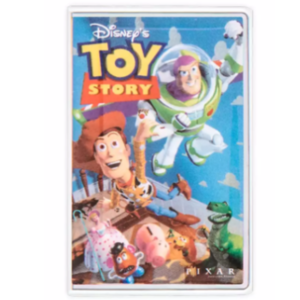Toy Story VHS cover pin