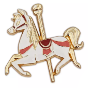 Main Attraction Carrousel horse pin