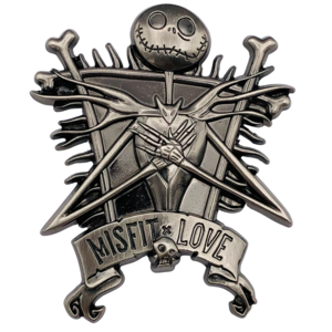 Jack Skellington Misfit Love pin