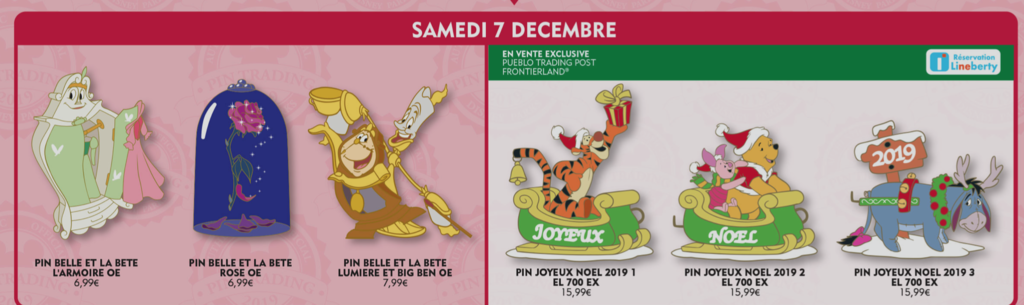 December 7th pin releases
