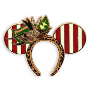 Jungle Cruise Minnie ears pin
