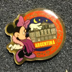 Morinaga Argentina Minnie pin