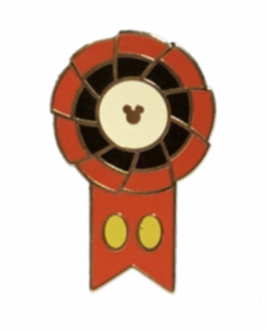 Mickey Mouse - Hidden Mickey Ribbons pin