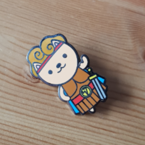 Hercules Cosplay pin