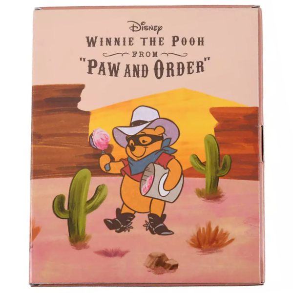 Piglet - Paw and Order pin