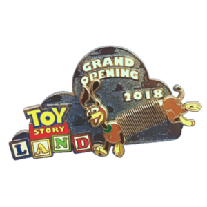 Toy Story Land Grand Opening (Disney Movie Rewards) Double Pin pin