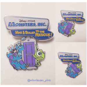 Monsters, Inc. - Mike and Sulley to the Rescue!  pin