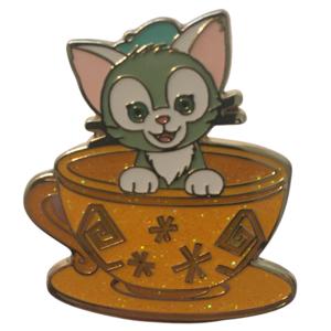Mad Hatter Tea Cup Mystery Set - Gelatoni pin